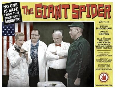 Giant Spider lobby card 5