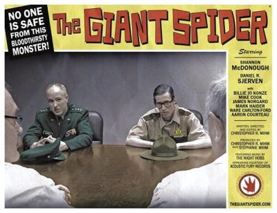 Giant Spider lobby card 6