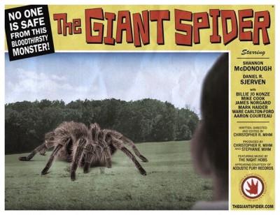 Giant Spider lobby card 8