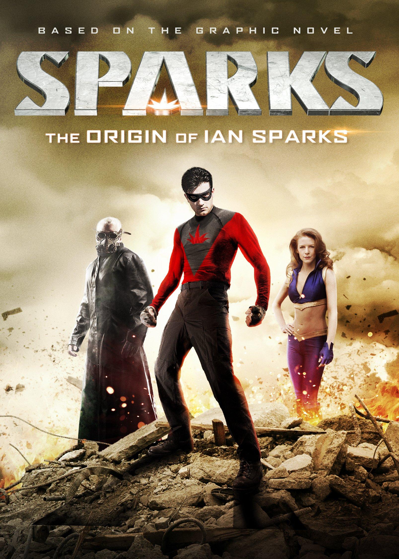 Graphic Novel Hero Film SPARKS Announced for DVD | HNN