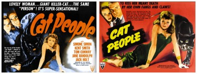 Cat People 1942 lobby cards
