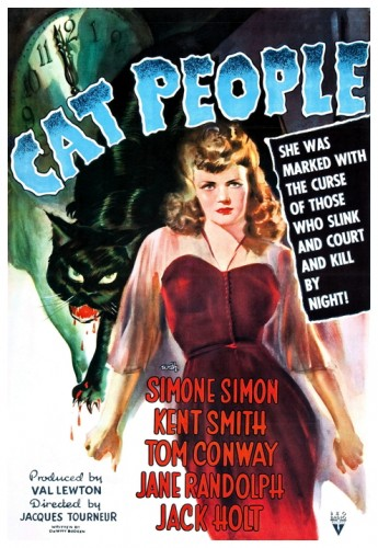 Cat People 1942 poster 1