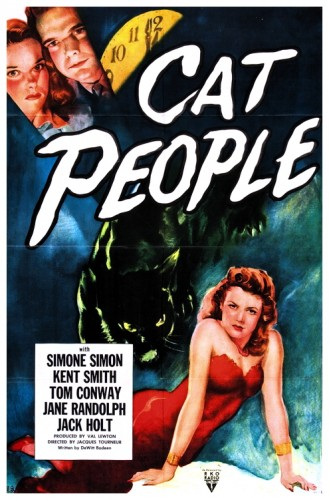 Cat People 1942 poster 2