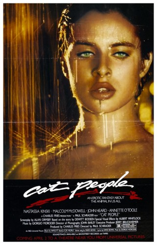 Cat People 1982 poster 1