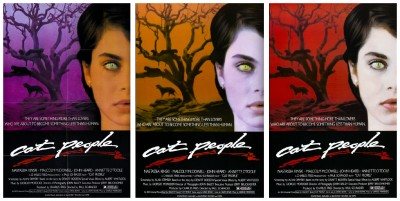 Cat People 1982 posters 1