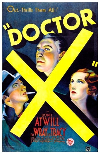 Doctor X poster 1