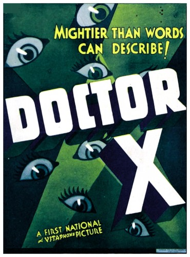 Doctor X poster 2
