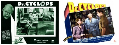 Dr Cyclops lobby cards 1