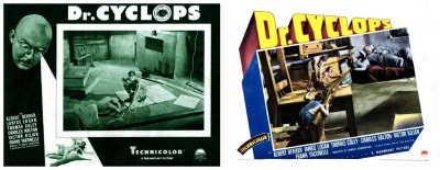 Dr Cyclops lobby cards 2