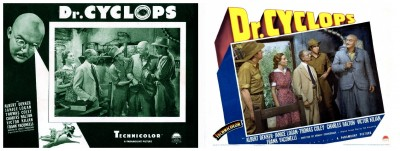 Dr Cyclops lobby cards 5