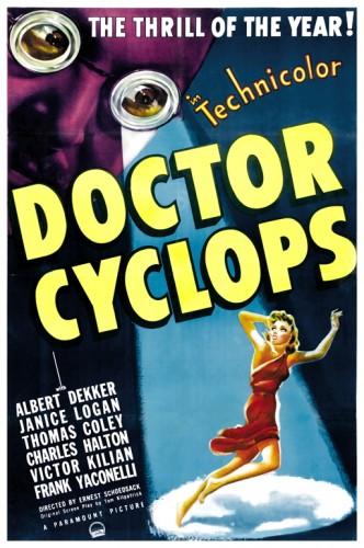 Dr Cyclops poster