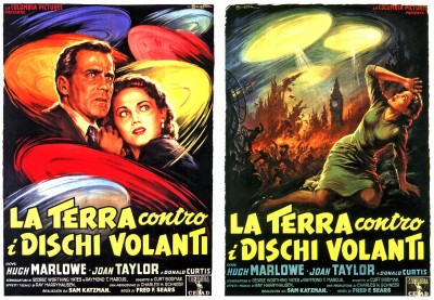 Earth Vs Flying Saucers posters 1