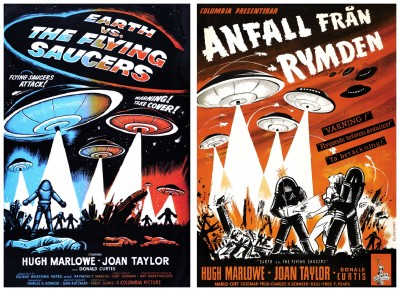 Earth Vs Flying Saucers posters 2