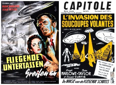 Earth Vs Flying Saucers posters 3