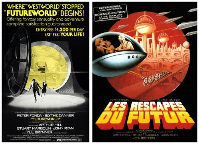 Futureworld posters