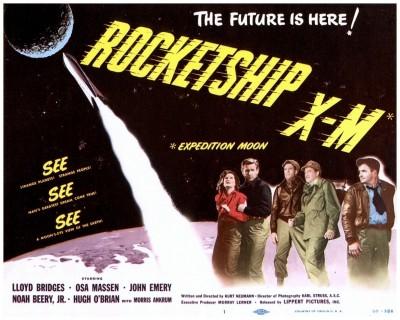 Rocketship XM lobby card 1