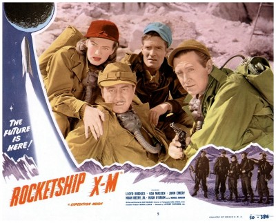 Rocketship XM lobby card 5