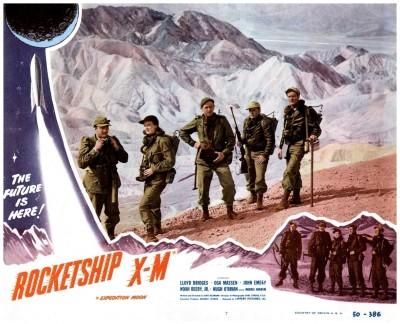 Rocketship XM lobby card 7