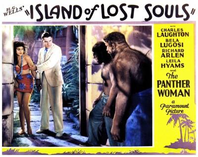 Island Of Lost Souls lobby card 2