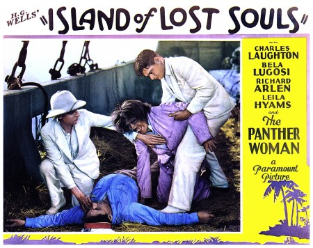 Island Of Lost Souls lobby card 4