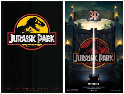 Jurassic Park posters