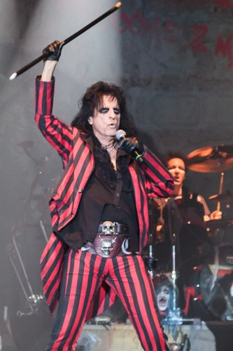Alice Cooper performing live during Halloween Night of Horror at London Wembley Arena on 28 October 2012