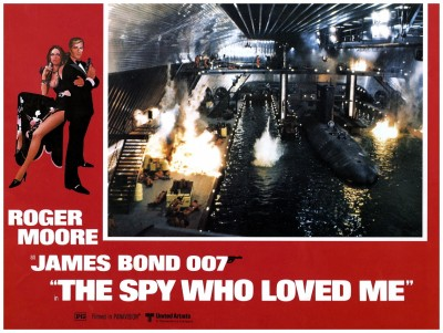 Spy Who Loved Me lobby card 1
