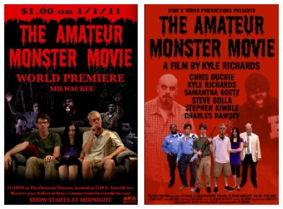 Amateur Monster Movie posters