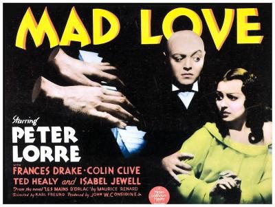 Mad Love lobby card