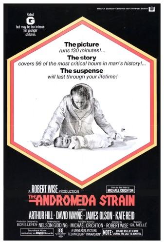 Andromeda Strain poster 1