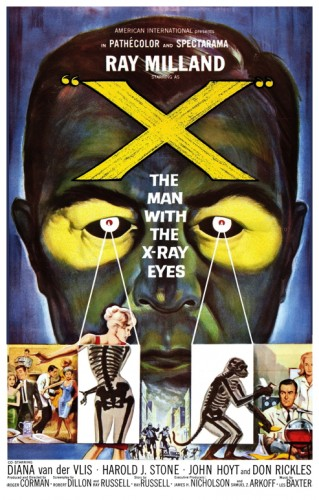 Man With The X-Ray Eyes poster
