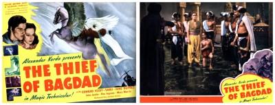 Thief Of Bagdad lobby cards 1