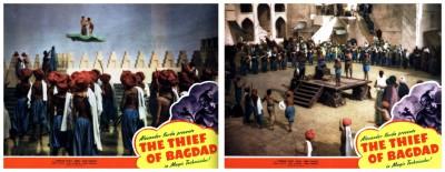Thief Of Bagdad lobby cards 3