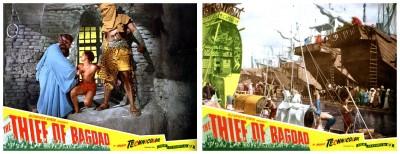 Thief Of Bagdad lobby cards 4
