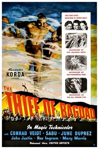 Thief Of Bagdad poster 1