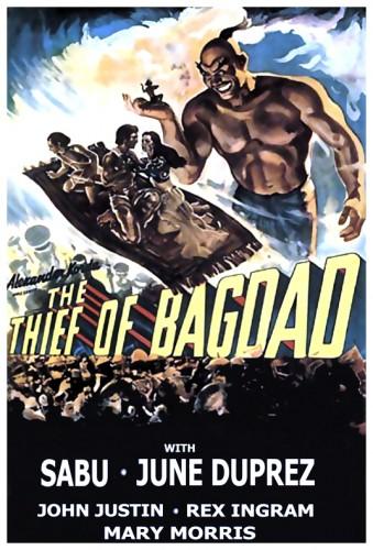 Thief Of Bagdad poster 2