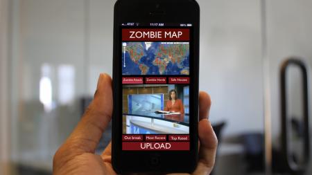 Zombie-Map-App