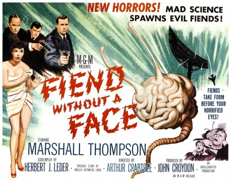 Fiend Without A Face lobby card