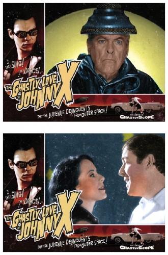 Johnny X lobby cards 1