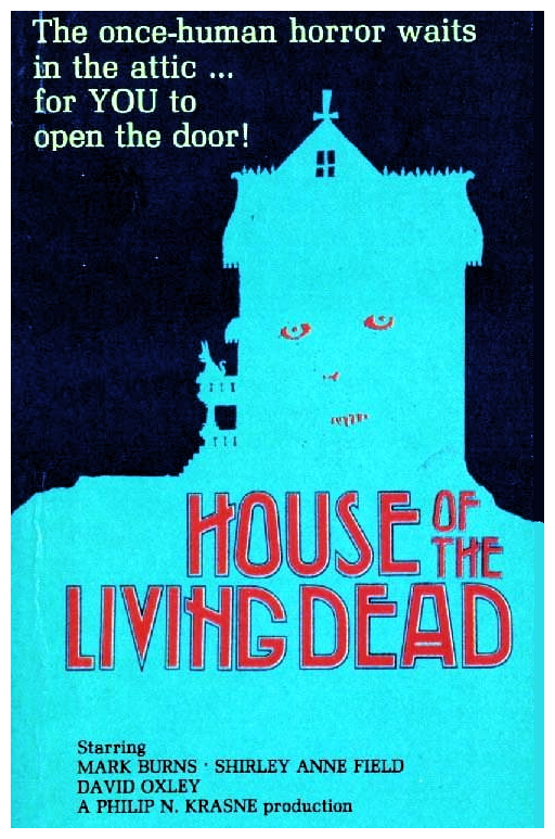 House Of The Living Dead VHS