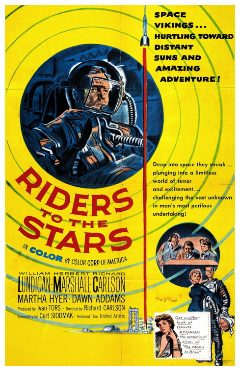 Riders To The Stars poster 1