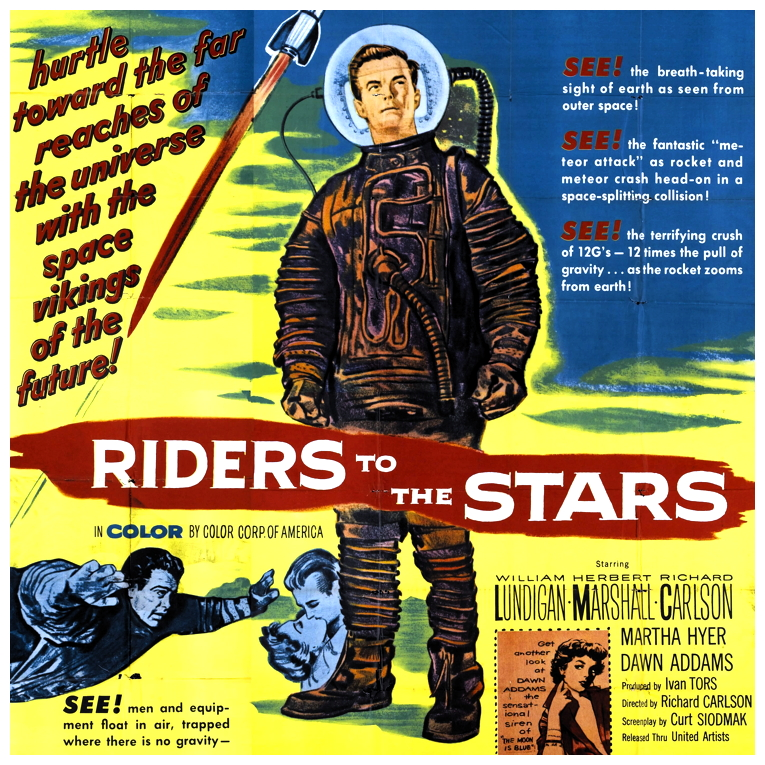 Riders To The Stars poster 2