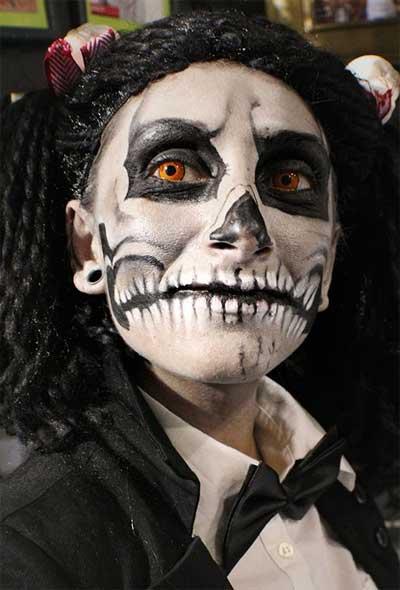 Skeleton-Make-Up