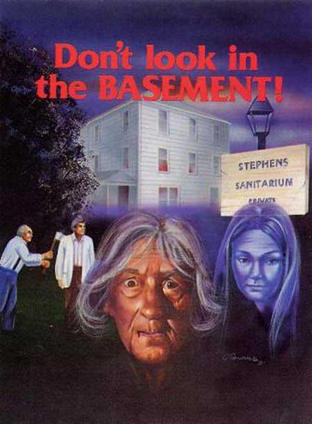 don t look in the basement digitally restored 70s b movie cult favorite dec 16th hnn. Black Bedroom Furniture Sets. Home Design Ideas