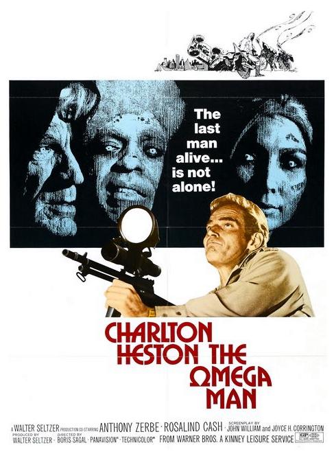 Omega Man poster
