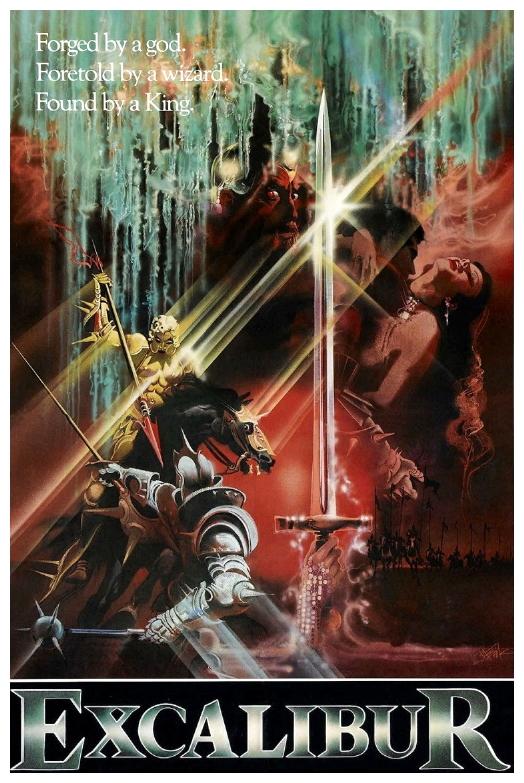 Excalibur poster 1