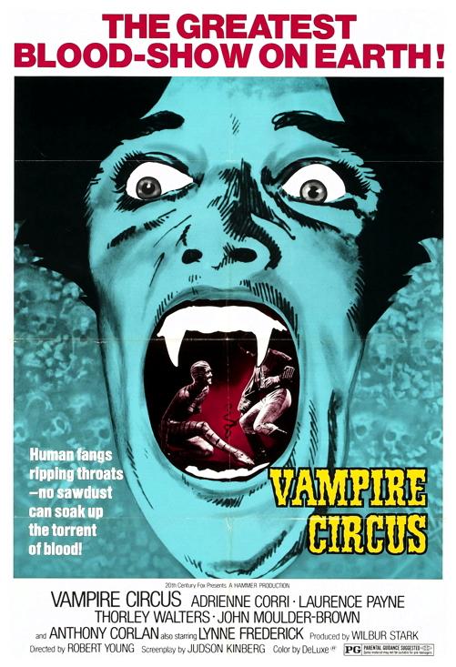 Vampire Circus poster 1