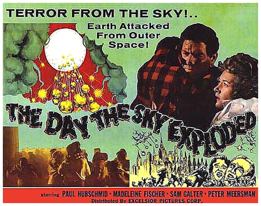 Day The Sky Exploded lobby card