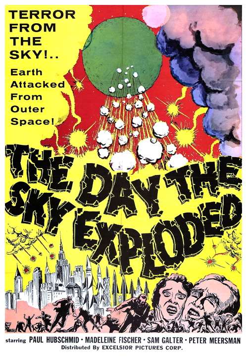 Day The Sky Exploded poster 1