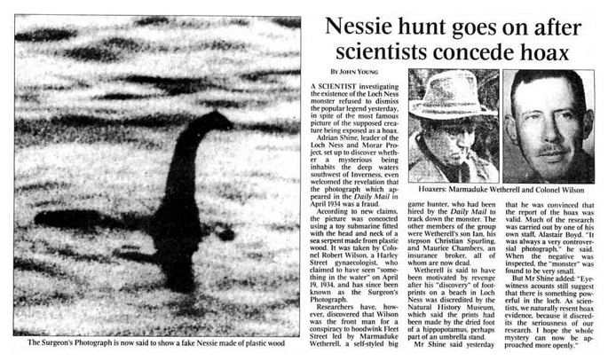 Nessie search goes on